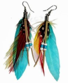 feather earring