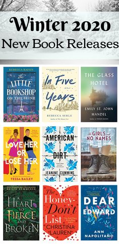 The upcoming new book releases for January, February, and March If you need a new book recommendation, preorder one of these upcoming book releases! Winter 2020 is packed with terrific new books, so don't miss out on these new books 2020 Best Books To Read, I Love Books, New Books, Good Novels To Read, Best Book Club Books, Book Suggestions, Book Recommendations, Reading Lists, Book Lists