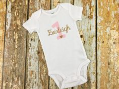 Personalized Birthday Shirt — Me and Baby Designs