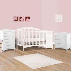 Graco Suri Convertible Crib, Classic White Graco http://www.amazon ...