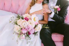 Gorgeously modern Kate Spade inspired wedding