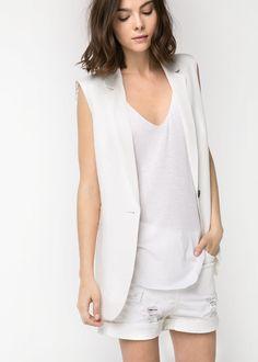 Sartorial Vest, from Mango.  It's so pretty!