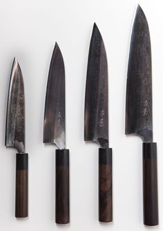 Click for a close-up view of the Masakage As-Yet-Un-Named family of knives