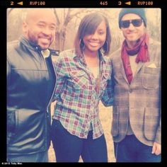 "Toby Mac and Jamie Grace ;) from the music video ""hold me"" by Jamie grace feat Tobymac"