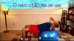 Ab Exercises on the Ball (Year 2 Episode 10)