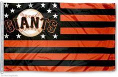 San Francisco Giants Fan Nation Flag