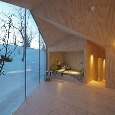 V-Lodge by Reiulf Ramstad Arkitekter | HomeAdore