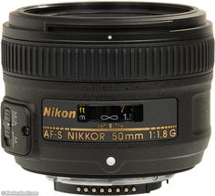 Nikon 50mm f/1.8 G  Pro: auto focus  Con: on back order for 1-3 months, 2x more expensive.