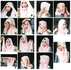 Hijab tutorial by @erinleola on instagram #erinleola #erinlalala #makeupbyerinlalala
