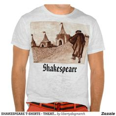 SHAKESPEARE T-SHIRTS - THEATRICAL FASHION - GIFTS - Original Artwork by Harriet Davidsohn