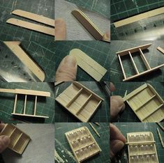 scale DIY Dollhouse Miniature Furniture Straight Stairway with Left Handrail Dollhouse Tutorials, Diy Dollhouse, Dollhouse Miniatures, Popsicle Stick Crafts, Craft Stick Crafts, Miniature Crafts, Miniature Dolls, Barbie Doll House, Barbie Dolls