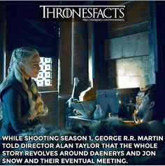 Of course. Cause Jonerys is real. Even George says so.