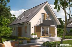 Projekty domów ARCHIPELAG - Eliot G1