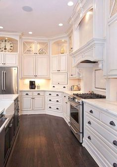 Kitchen Cabinet Types - CLICK THE PIC for Many Kitchen Ideas. #cabinets #kitchenorganization