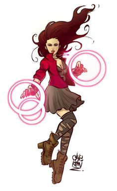 WANDA MAXIMOFF ( Scarlet Witch ) AVENGERS 2: AGE OF ULTRON