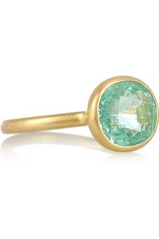 Marie-Hélène de Taillac 22-karat gold paraiba ring Category: Jewelry / Gender: Women / Brand: Marie-Hélène de Taillac