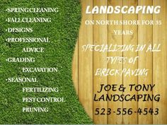 10 best landscaping flyer templates images flyer template