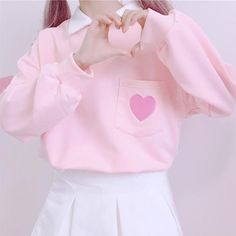 Pink/grey students sweatshirt SE11082