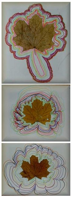 Fall Arts And Crafts, Autumn Crafts, Autumn Art, Nature Crafts, Forest School Activities, Autumn Activities, Preschool Activities, Drawing Games For Kids, Art For Kids