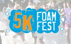 5k obstacle course through foam and mud! Jul 12..can you say happy birthday to us??