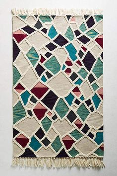 Tammy Kanat Tufted Geode Rug Swatch #ad #AnthroFave #AnthroRegistry Anthropologie