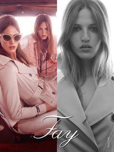Fay Women's Spring - Summer 2015 Advertising Campaign