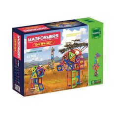 Magformers 83-pc. Safari Set, Multicolor