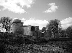 Hunaudaye Castle, Plédeliac, Brittany, France   Photo by Ayuna Skol Ofenstrü (April 2013) #chateau #bretagne