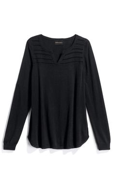 Absolutely my style top. Would love it another color though..I have tons of black.