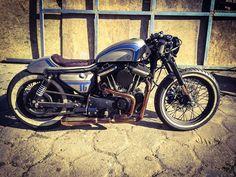 ϟ Hell Kustom ϟ: Harley Davidson Sportster 1200 1992 By Cardsharper...