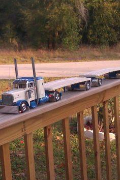 Hat truck model.