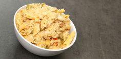 En god krämig pastarätt som du enkelt gör i din Crock-Pot. Här med cajunkryddor som gör den lite mer smakrik. …
