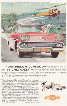 1958 Bel Air Sport Coupe Chevrolet