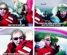 Jeremy Clarkson and James May explore the north pole properly. Arctic Special