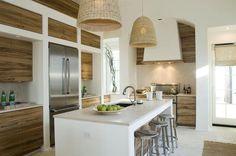 Modern beach house: Kitchen | Home Decorating Ideas
