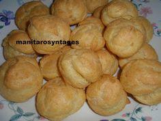 ΜΑΝΙΤΑΡΙΑ: Σουδάκια με καραμέλα και καβουρδισμένα αμύγδαλα! Hamburger, Bread, Food, Brot, Essen, Baking, Burgers, Meals, Breads