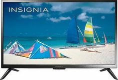 """Stay entertained with this 32"""" Class LED HDTV. The 720p resolution renders stunning, detailed visuals on the LCD screen, while the HDMI and USB ports ensure flexible connectivity to compatible external devices. Best Home Theater, Tv Tuner, Composite Video, Geek Squad, Built In Speakers, Old Tv, Smart Tv, Great Pictures"""