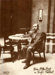 Peter Altenberg, österreichischer Autor und Kaffeehausbewohner