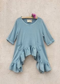 Look what I found on Lagoon Dylan Sidetail Top - Toddler & Kids Baby Girl Dresses, Baby Dress, Cute Dresses, Cute Outfits For Kids, Toddler Outfits, Fashion Kids, Toddler Girl Style, Toddler Girls, Kids Ethnic Wear
