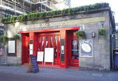Filthy McNasty's, Edinburgh.  --- I long to pub crawl in Edinburgh!