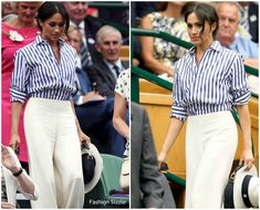 Image result for duchess of sussex wimbledon