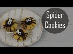 Halloween: Spider Cookies - YouTube