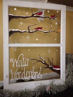 Feine Fensterbilder zu Weihnachten und Winterzeit fensterbilder weihnachten – das fenster winterlich dekorieren More from my sitebutton crafts projects Country Christmas, Christmas Art, Christmas Projects, Christmas Holidays, Beautiful Christmas, Christmas Lights, Vintage Christmas, Christmas Scenes, Christmas Pictures