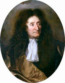 Jean de La Fontaine (né le 8 juillet 1621 à Château-Thierry, et mort le 13 avril 1695 à Paris)