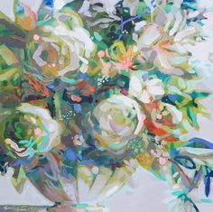 Buy Better Days Ahead 3 on Acrylic on Canvas by Erin Gregory. Erin Gregory is from Columbus, GA and is represented by Anne Irwin Fine Art, Ray Browning Bush Erin Gregory, Better Day, Artist Gallery, Painting & Drawing, Flower Power, Fine Art, Abstract, Drawings, Florals