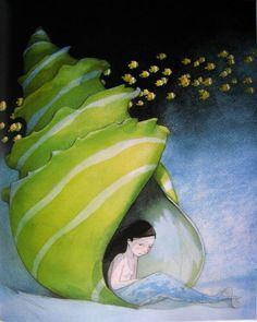 Mermaid girl by Quentin Gréban