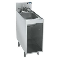 12  Open Storage Cabinet with Sink- Royal 2100 Series