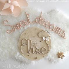 Douce nuit petite Élise , fais de beaux rêves 💕 Douce Nuit IG✨ #tricotin #laine #wool #baby #cadeau #gigot #naissance #babygirl #elise #cloud #sweetdreams #pink #pastel #decoration #decorating #deco #instadeco #babyroom #handmade #faitmain #madeinfrance