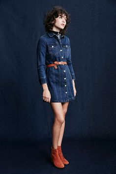 Cooperative Berkin Denim Mini Dress