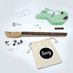 Loog Electric Guitar kits | coolest birthday gifts for tweens